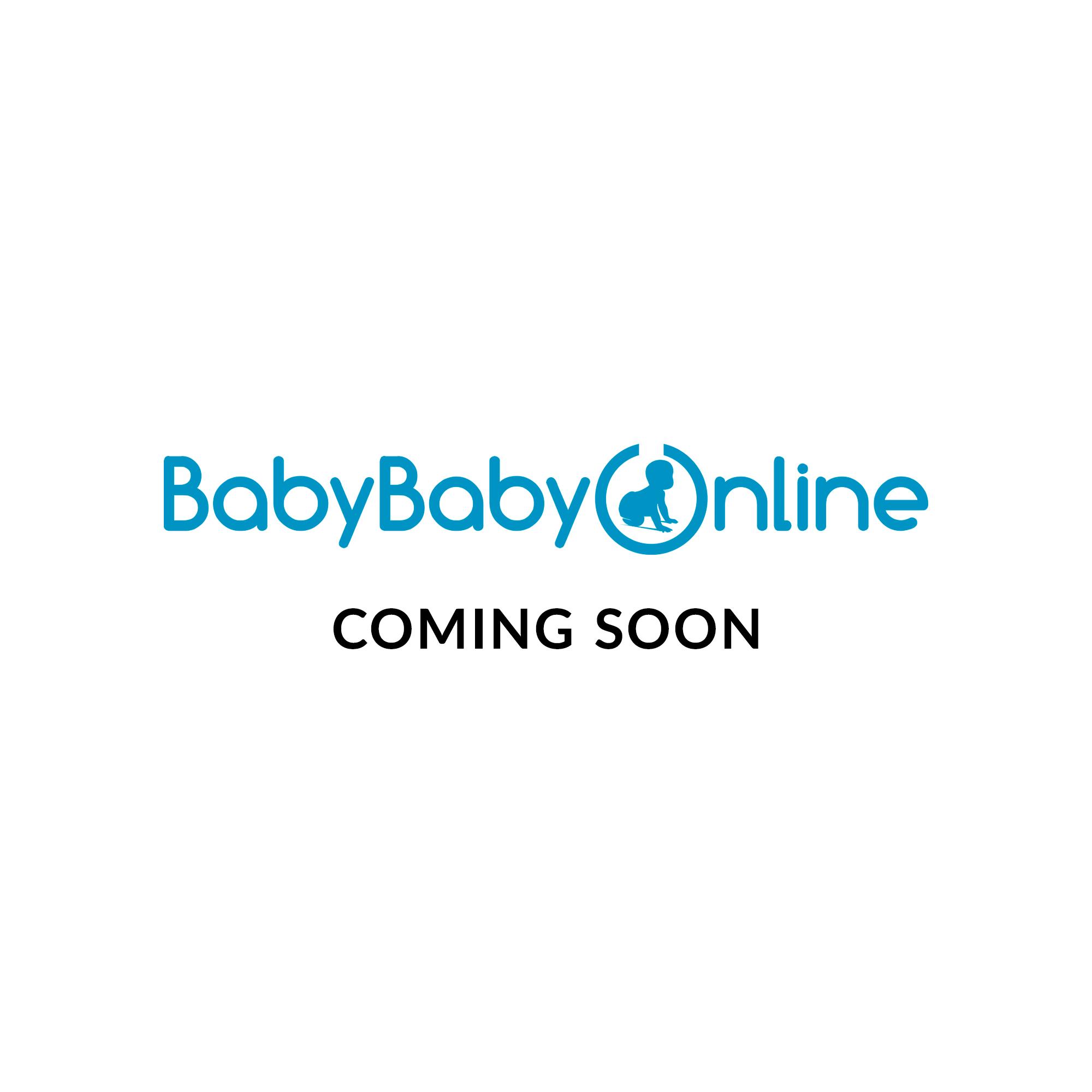 4moms 4moms mamaroo Newborn Plush Insert (White/Grey)