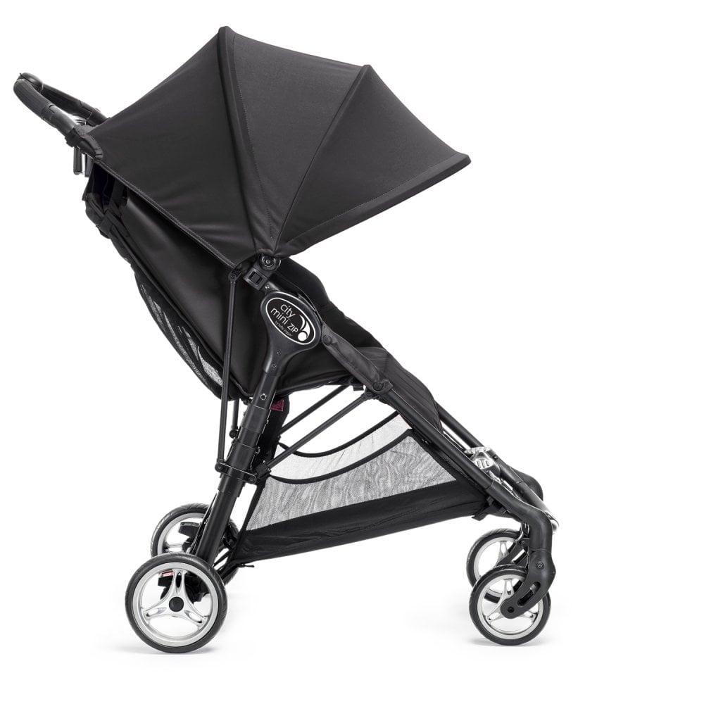 Baby Jogger City Mini Zip Stroller Including Free Car Seat Adaptors Black