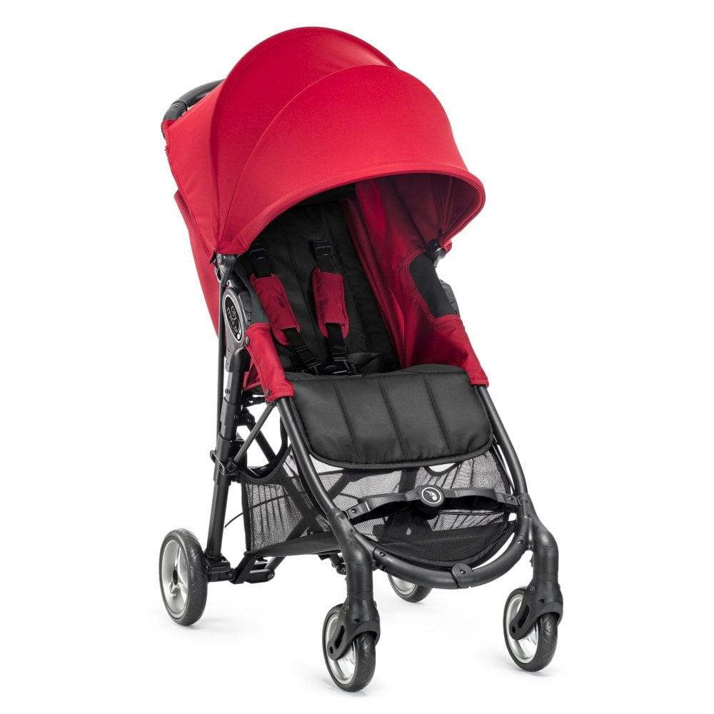 Baby Jogger City Mini Zip Stroller Including Free Car Seat Adaptors Red
