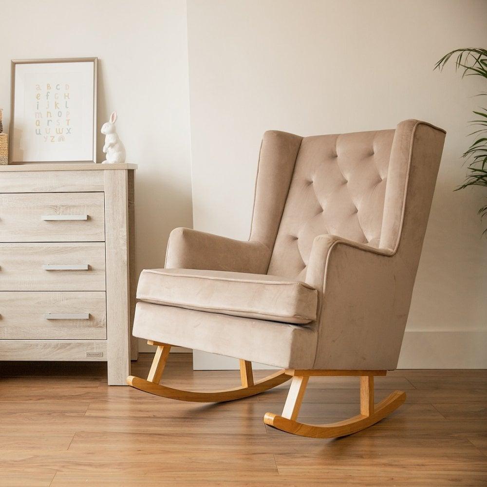 Babybabyonline Convertible Rocking Chair Natural Legs Mink Grey From Www Babybabyonline Co Uk