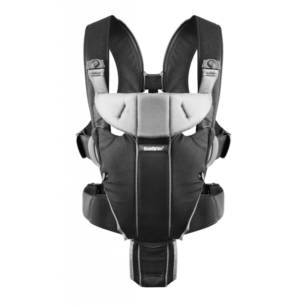 f6947fddf1a BabyBjorn Baby Carrier Miracle Cotton Mix (Black Silver) - Car Seats ...