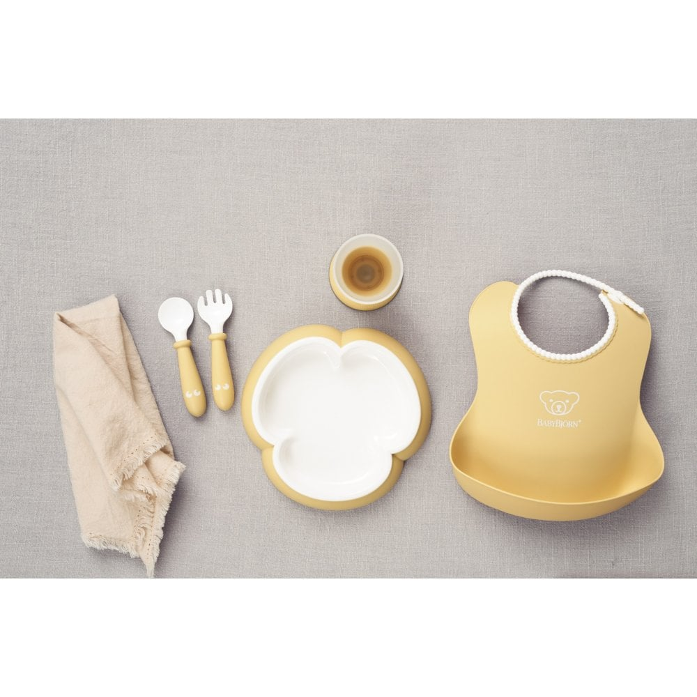 cb72f99dae1 BabyBjorn Baby Dinner Set (Powder Yellow) - High Chairs   Gliders ...