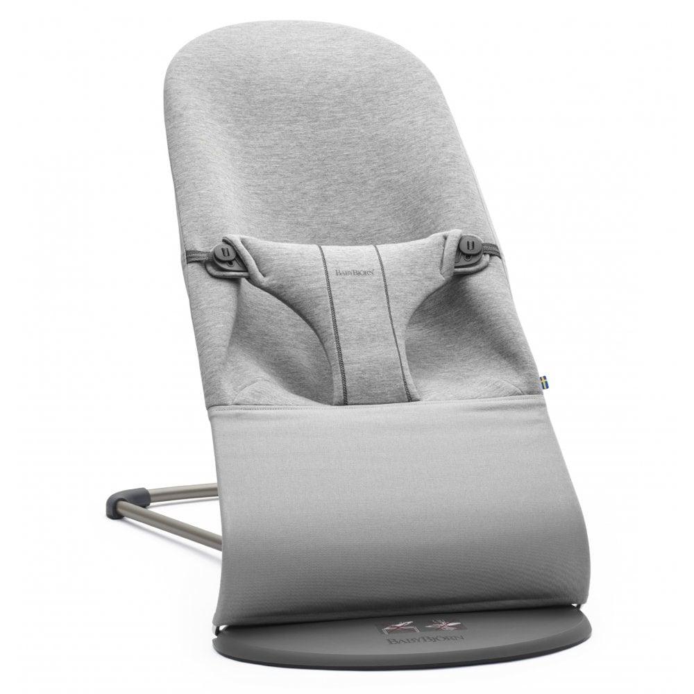 Stupendous Bouncer Bliss 3D Jersey Light Grey Dailytribune Chair Design For Home Dailytribuneorg