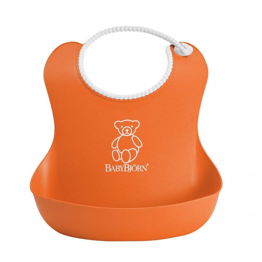 03eaf60f002 BabyBjorn Soft Bib (Orange) - High Chairs   Gliders from ...