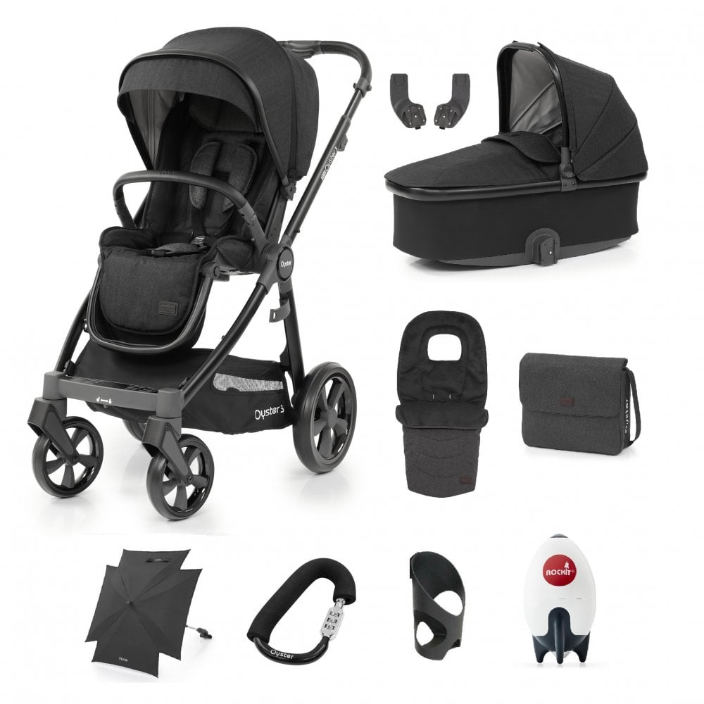 Babystyle Oyster Lock stroller lock Lock your buggy or your bags Buggy
