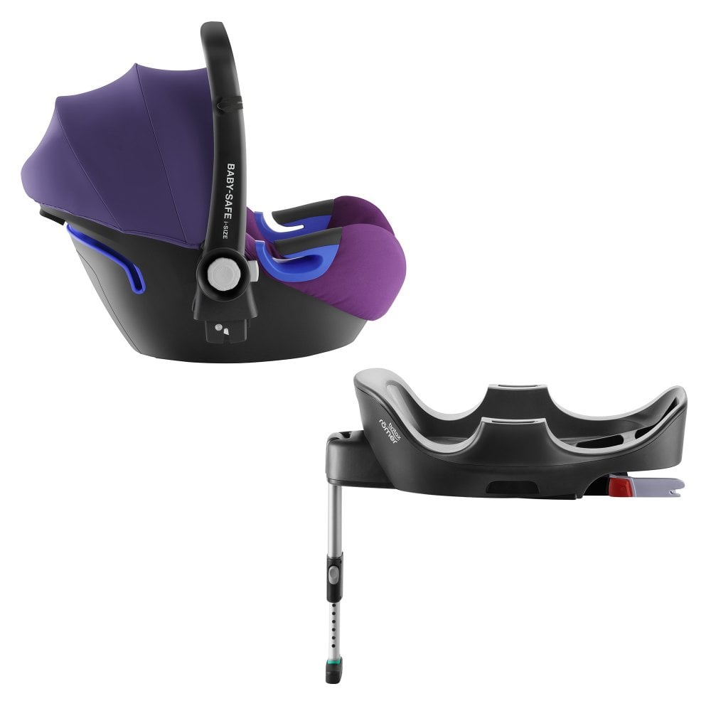 Britax Britax Römer Baby-Safe i-Size Car Seat With Baby-Safe i-Size Flex  Base (Mineral Purple)