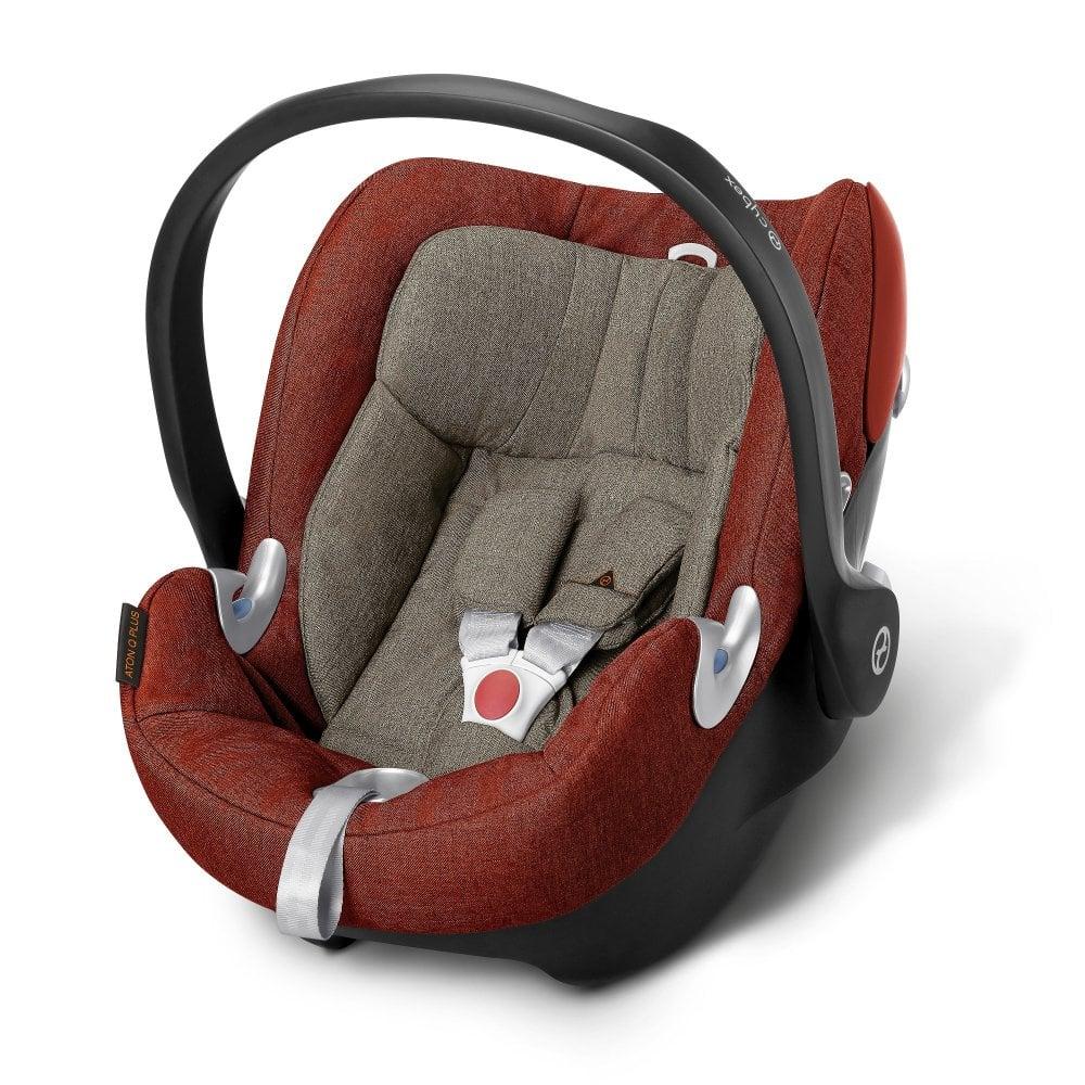 4bfabe39df0e Cybex Aton Q Plus Baby Car Seat (Autumn Gold) - Car Seats   Carriers ...