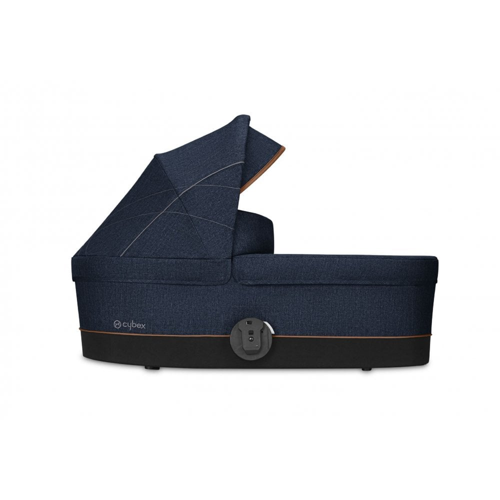 From birth to 6 months Denim Collection CYBEX Gold Carrycot Cot S 9kg Denim Blue