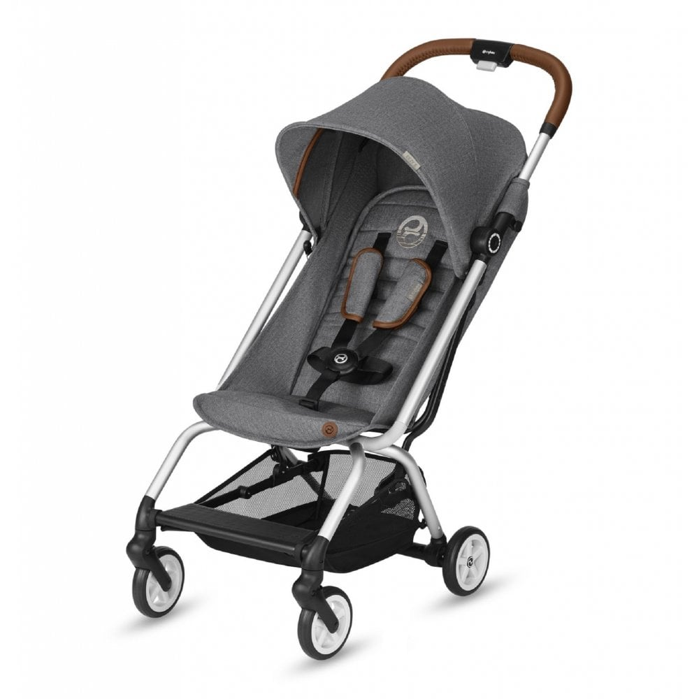 Cybex Eezy S Denim Compact Stroller 2019 (Manhattan Grey ...