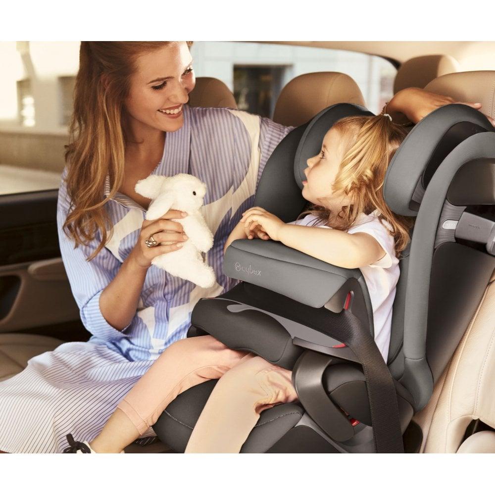 Cybex Pallas S Fix Car Seat 2019 Premium Black Car Seats