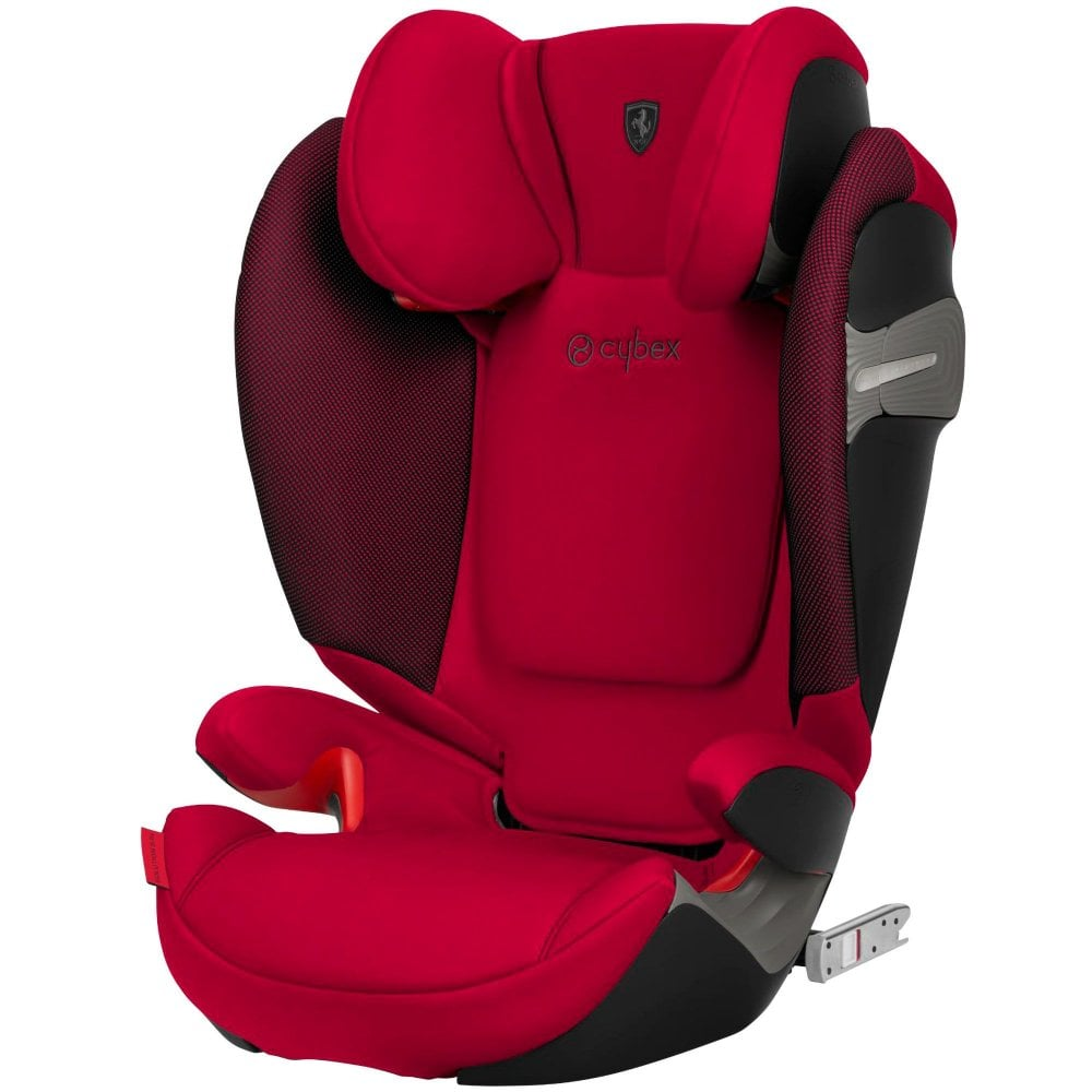 Cybex Solution S Fix Highback Booster Car Seat Ferrari Collection