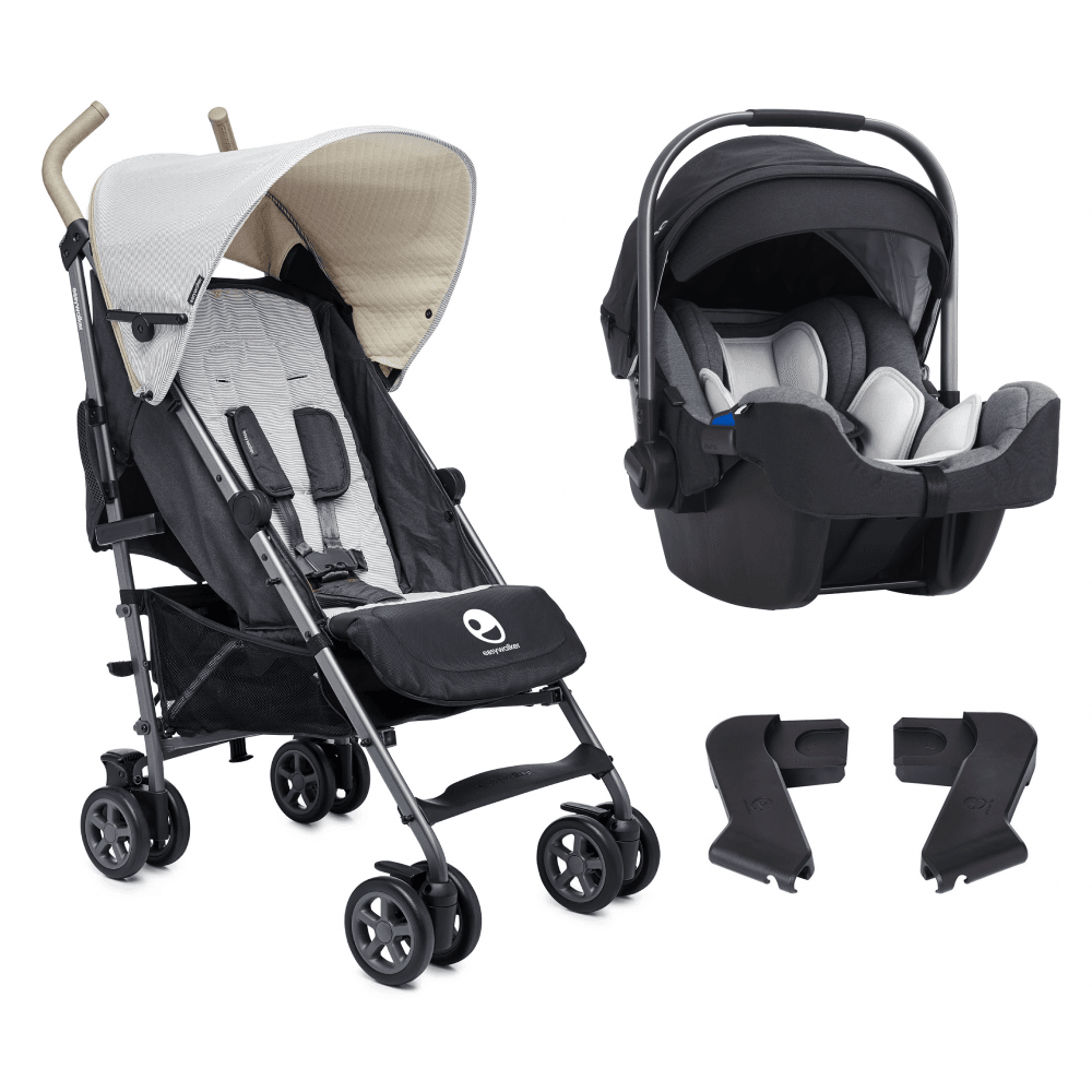 Easywalker Easywalker Buggy With Nuna Pipa Icon Baby Car Seat Classic Breton Jett