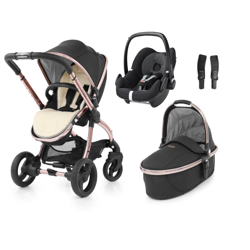 egg stroller maxi cosi pebble bundle diamond black from. Black Bedroom Furniture Sets. Home Design Ideas