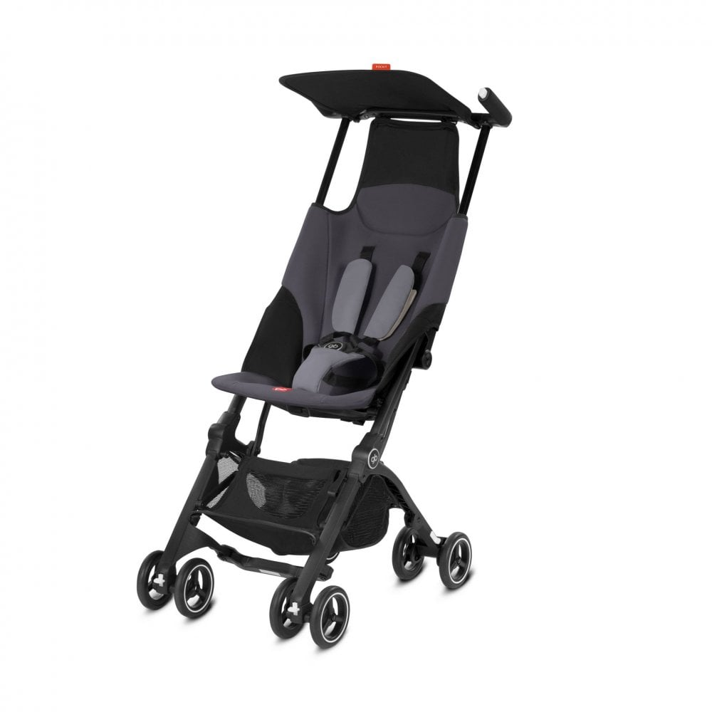 gb pockit lightweight and compact stroller silver fox p2472 19865 image