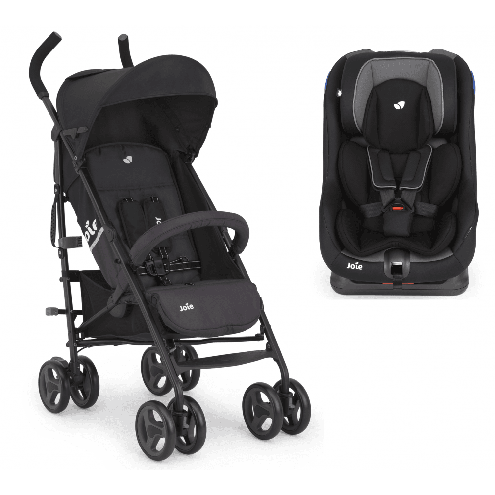 joie nitro lx stroller and steadi car seat bundle two tone black moonlight p1859 14371 image