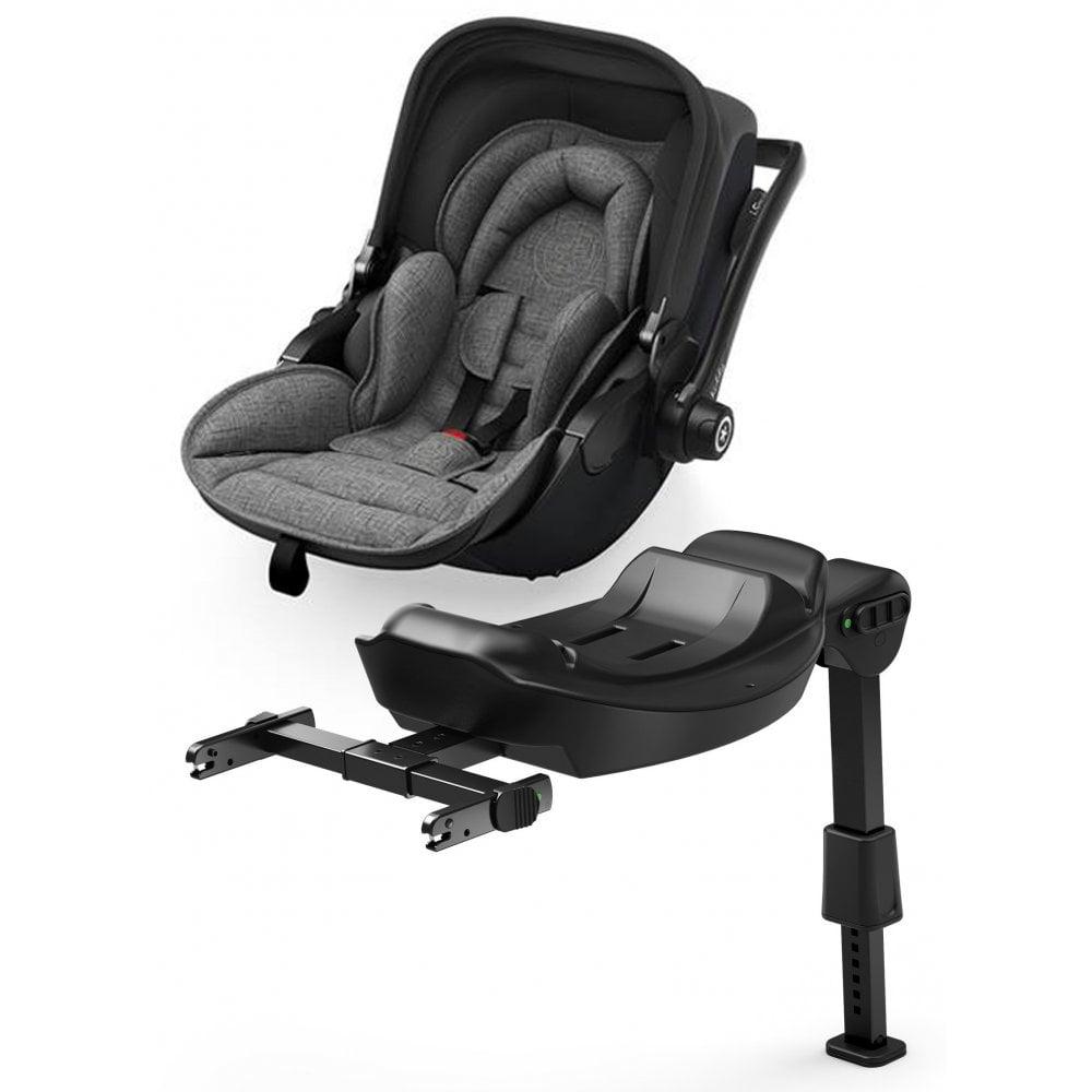 Amazing Kiddy Kiddy Evoluna I Size 2 Car Seat Base Grey Melange Icy Black Uwap Interior Chair Design Uwaporg