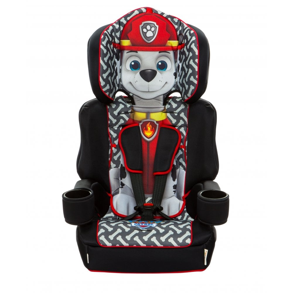 Kids Embrace Highback Booster With Harness Car Seat Paw Patrol Marshall