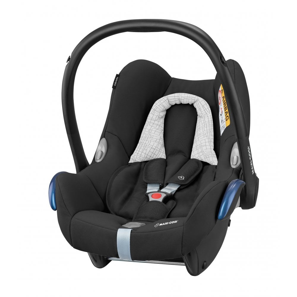 Maxi Cosi 3 In 1 Baby And Toddler Car Seat Bundle Black Grid