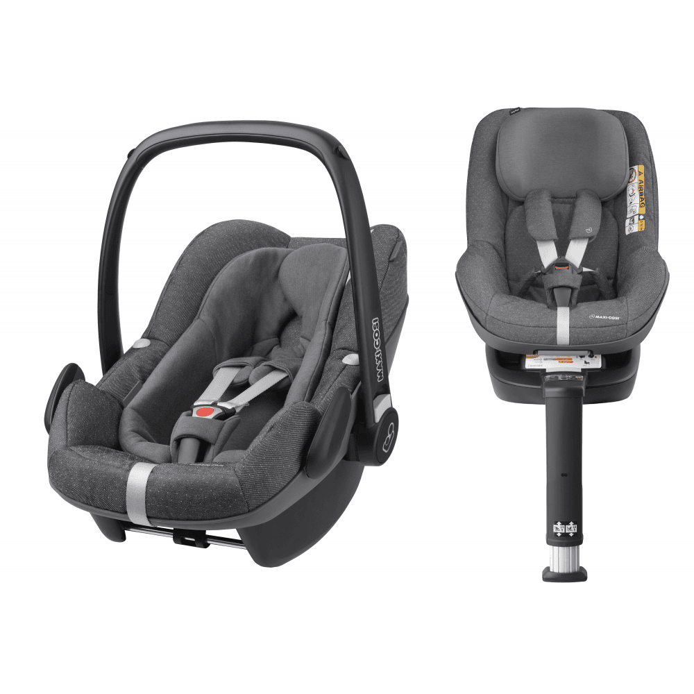 3 In 1 I Size Pebble Plus Baby Car Seat And 2way Pearl