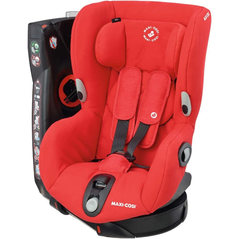 Awe Inspiring Axiss Car Seat Nomad Red Creativecarmelina Interior Chair Design Creativecarmelinacom