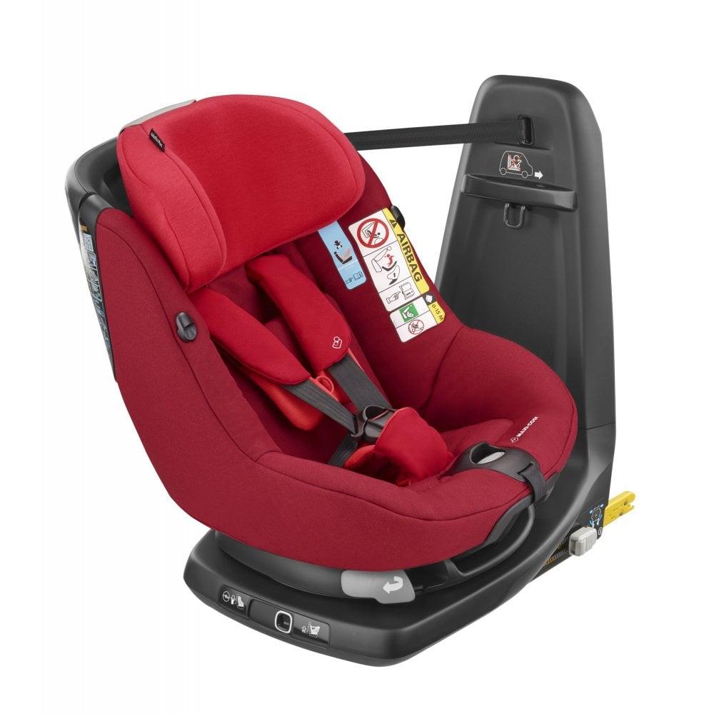 Maxi Cosi Maxi Cosi Axissfix I Size Car Seat Vivid Red