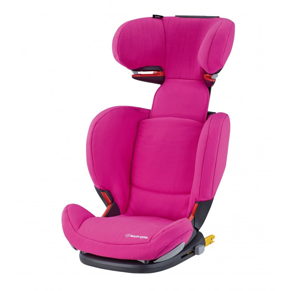 Maxi Cosi RodiFix AirProtect Highback Booster Car Seat Frequency Pink