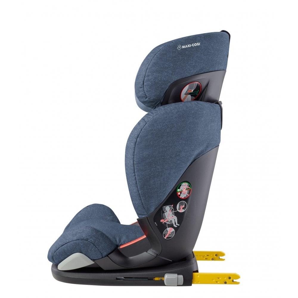 1fb1673034b Maxi-Cosi RodiFix AirProtect Highback Booster Car Seat (Nomad Blue)