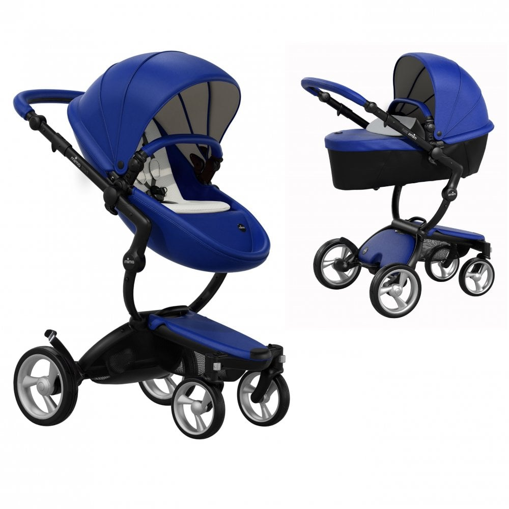 Mima Xari 3-in-1 Pushchair (Royal Blue/Black Chassis) from ...