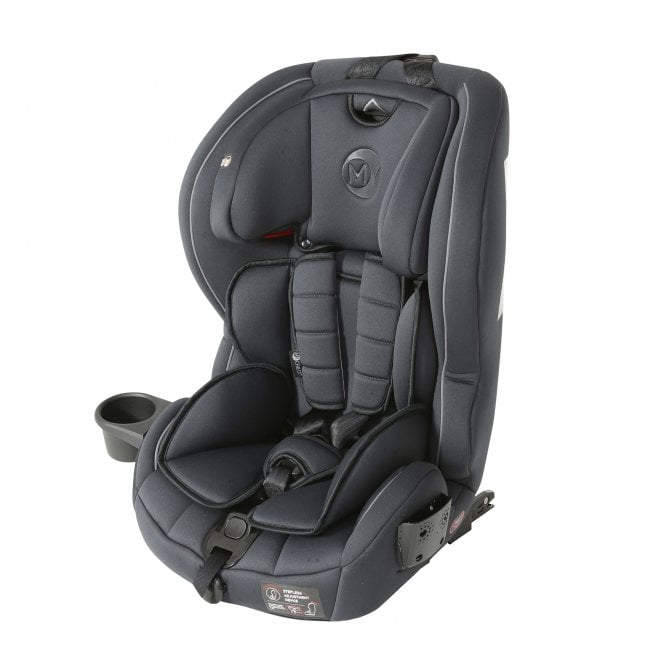 Stirling Highback Booster Car Seat With Harness Charcoal
