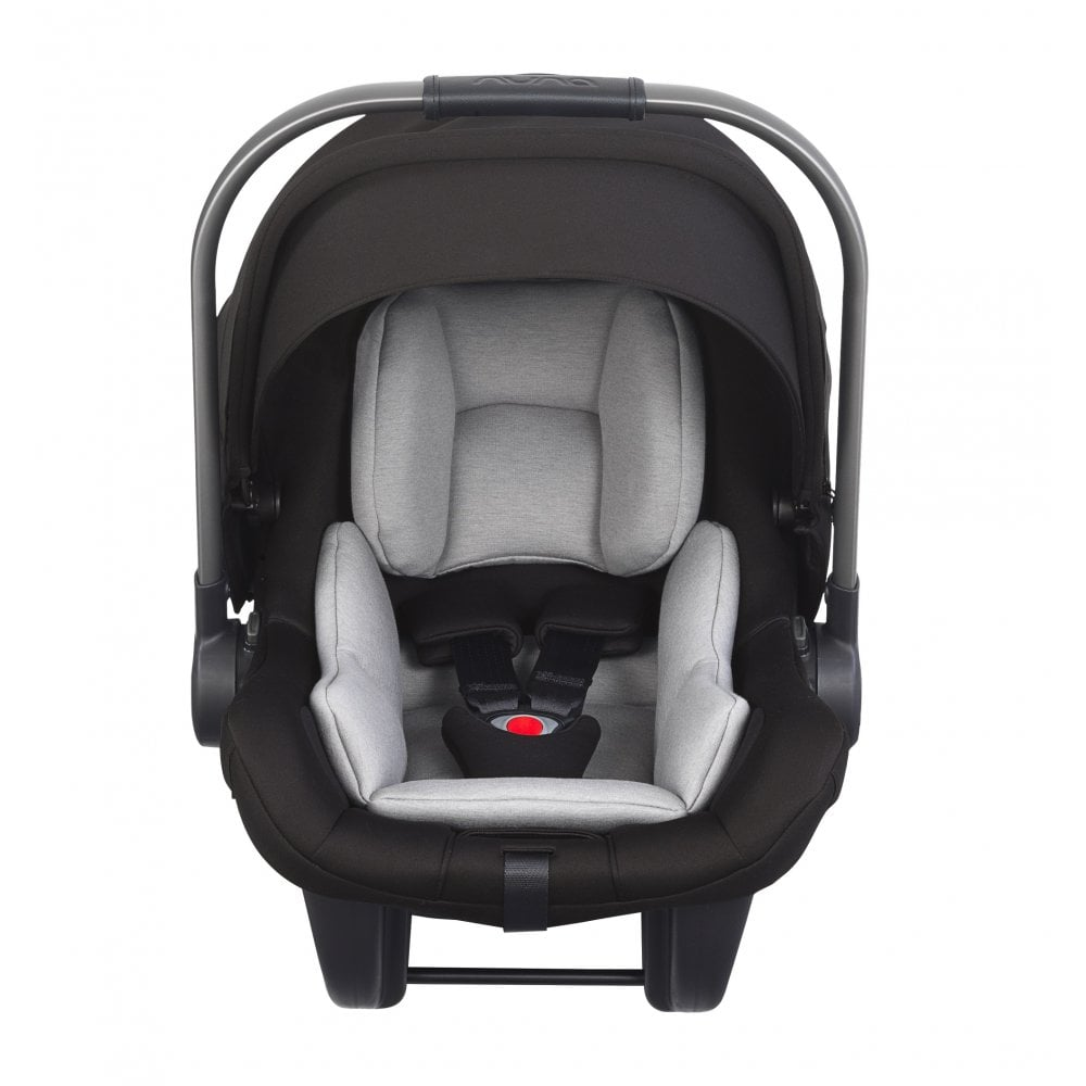 Nuna Pipa Lite LX Baby Car Seat With ISOFIX Base Caviar