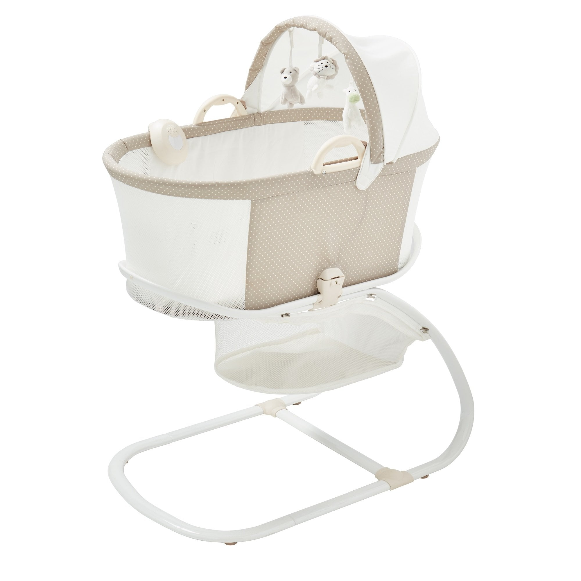 PurFlo PurAir Breathable Bassinet Soft Truffle
