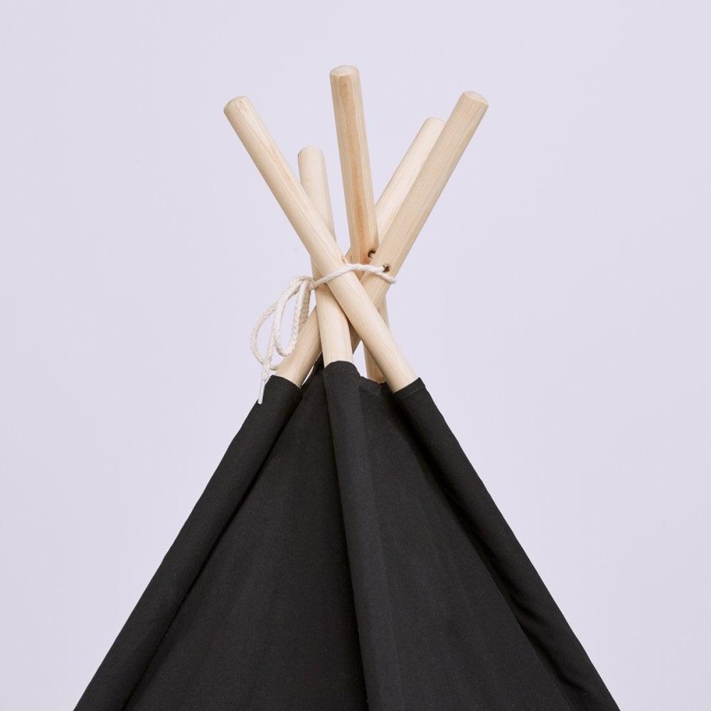 Snuz Snuz Kids Teepee Play Tent (Black Stripe)